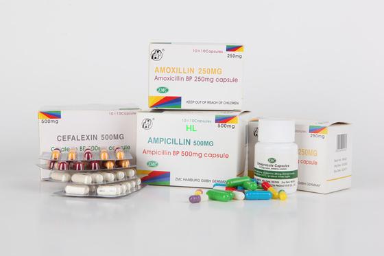 Κίνα Ampicillin κάψες 250MG 500MG BP/φάρμακα πενικιλινών USP διανομέας